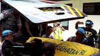 Brigadir Pol Shinton Kbarek menjadi korban pengadangan Kelompok Kriminal Sipil Bersenjata (KKSB) di Distrik Torere, Kabupaten Puncak Jaya, Papua, usai mengamankan Pilkada serentak 2018. (KabarPapua.co/Liza Indriyani)