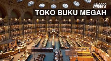 Begitu diubah menjadi toko buku, tempat ini dikunjungi satu juta orang tiap tahunnya.