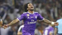 4. Marcelo - Bek Real Madrid (Brasil). (AP/Dave Thompson)