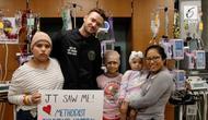 Justim Timberlake mengunjungi rumah sakit anak di Texas pada sela-sela jadwal turnya yang padat.