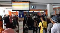Tiket Kereta gratis dan tarif khusus dapat diperoleh di loket seluruh stasiun wilayah KAI daop 5 Purwokerto (Foto: Liputan6.com/KAI Daop 5 PWT/Muhamad Ridlo)
