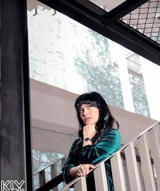Lola Amaria, produser dan sutradara film Lima. (Fotografer: Bambang E .Ros, Digital Imaging: Muhammad Iqbal Nurfajri /Bintang.com)