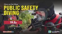 PPSDM Geominerba menyelenggarakan Diklat dan Sertifikasi Public Safety Diving.