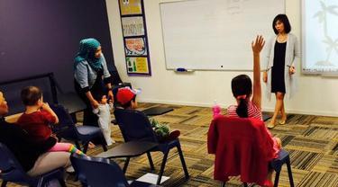 Pembukaan Sekolah Bahasa Indonesia di Sherwood State School, Brisbane.