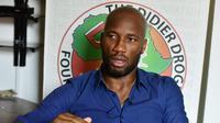 3. Didier Drogba -  Drogba mendirikan yayasan bernama Didier Drogba Foundation. Awal tindak baik dari yayasan ini ialah mendirikan rumah sakit di kota Abidjan, kota kelahiran mantan bober Chelsea tersebut. (AFP/Issouf Sanogo)