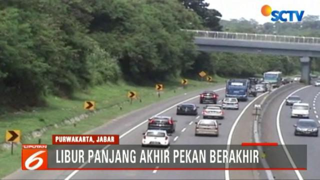 Arus Balik Libur Panjang, Tol Cipularang Dipadati Ribuan Kendaraan