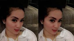 Hiara Cleopatra mengawali karier di dunia model dan berakting, sebelum akhirnya mengeluarkan single berjudul Godbye Honey. (twitter.com/Hiara_cleo)