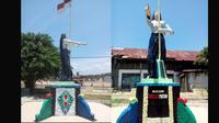 Monumen Merah Putih Andi Depu (Istimewa)