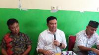 Direktur Reserse Narkoba Polda Sulsel Kombes Pol Hermawan merilis sejumlah kasus narkoba yang terjadi di Sulsel selama tahun 2018 (Liputan6.com/ Eka Hakim)