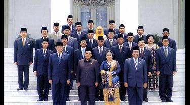 Pose-pose Menteri Kabinet dari Presiden 1 Sampai 7