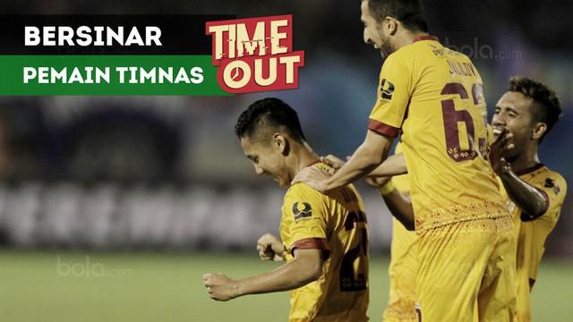 Berita video Time Out kali ini tentang para pemain Timnas Indonesia yang bersinar di Piala Presiden 2018.