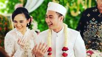Pernikahan Eza Gionino dan Meiza Aulia. (Foto: instagram.com/krystin_navin)