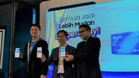 Peluncuran Samsung Pay melalui Kemitraan dengan Dana dan Gopay. Liputan6.com/Agustinus Mario Damar