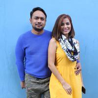 Bebi Romeo dan Meisya Siregar (Adrian Putra/bintang.com)