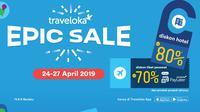 Yuk simak trik jitu memburu diskon di Traveloka Epic Sale berikut ini!