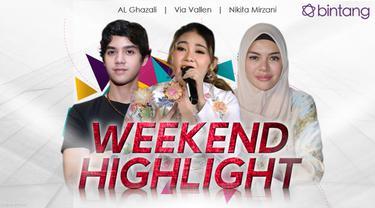 HL Weekend Highlight Al Ghazali, Via Vallen, Nikita Mirzani (Foto: Al Ghazali & Nikita: Nurwahyunan/Bintang.com , Via Vallen : Novi Nadya )