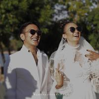 Dimas Anggara dan Nadine Chandrawinata. (Instagram/rzbyphotography)