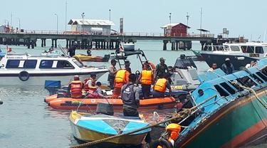 Kronologi Tenggelamnya Kapal Rezeki Baru di Perairan Tarakan
