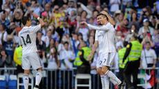 Cristiano Ronaldo berhasil mencetak hattrick sekaligus membawa Real Madrid memetik kemenangan 7-3 atas Getafe di laga terakhir La Liga Spanyol musim ini, Minggu (24/5) dini hari WIB.