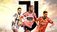 Juventus - Emerson Palmieri, Papu Gomez, Luis Alberto (Bola.com/Adreanus Titus)