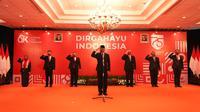 Otoritas Jasa Keuangan (OJK) menggelar upacara peringatan Hari Ulang Tahun (HUT) Kemerdekaan RI ke-75 yang dilakukan secara virtual. Dok OJK