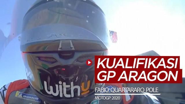 Berita video hasil kualifikasi MotoGP 2020, di mana Fabio Quartararo meraih pole position dan Maverick Vinales di posisi kedua start.