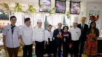 Restoran yang berada di lantai 25 Hotel Peony Plaza ini diresmikan berdiri 1 April 2017. Foto: Kementerian Pariwisata.