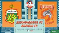 Shopee Liga 1 2019: Bhayangkara FC vs Pusamania Borneo FC. (Bola.com/Dody Iryawan)