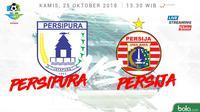 Liga 1 2018 Persipura Jayapura Vs Persija Jakarta (Bola.com/Adreanus Titus)