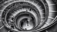 (Foto: WenPhotos?Pixabay) Ilustrasi tangga.