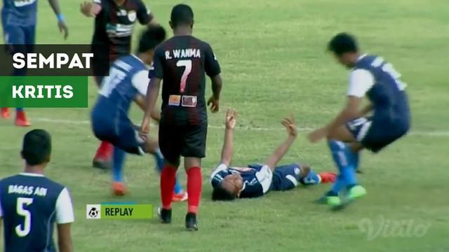 Berita video insiden gelandang Arema FC, Hendro Siswanto, yang sempat kejang dan kritis saat laga melawan Persipura Jayapura dalam lanjutan Gojek Liga 1 2018 bersama Bukalapak, Sabtu (22/9/2018).