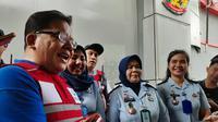 Anggota Ombudsman RI, Adrianus Meliala Saat Meninjau Rutan Pondok Bambu Kelas IIA, Jakarta Timur, Jumat (7/6/2019). (Foto: Merdeka.com)