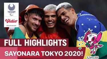Berita video highlights momen-momen terbaik dari Paralimpiade Tokyo 2020.