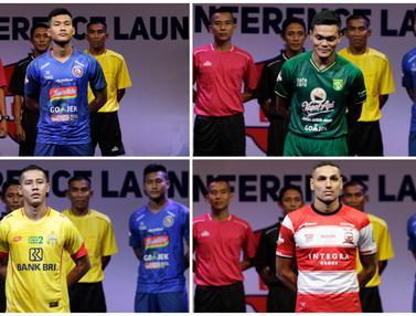 FOTO: Penampilan Jersey 18 Klub Peserta Shopee Liga 1 Indonesia 2019