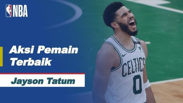 Berita Video Bintang Boston Celtics, Jayson Tatum Cetak 50 Poin di NBA Hari Ini