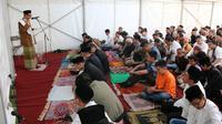 Suasana perayaan Idul Fitiri 2018 di KBRI London, Inggris (15/6) (sumber: KBRI London)
