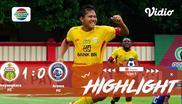 Babak Penyisihan #ShopeeLiga1 yang mempertemukan #Bhayangkara FC vs #Arema FC pada hari Rabu (27/11/2019) berakhir dengan skor 1-0...