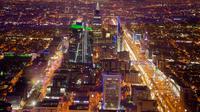 Pemandangan Kota Riyadh, Arab Saudi, 9 Maret 2018. Pangeran Sultan bin Salman mengatakan maksudnya untuk menjadikan Arab Saudi sebagai destinasi terbaik dunia kepada peserta tahunan konferensi Travel Dunia dan Dewan Turis (WTTC). (AP Photo/Amr Nabil)