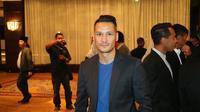 Raphael Maitimo mengungkap alasan memilih nomor punggung 9 di Madura United. (Bola.com/Aditya Wany)