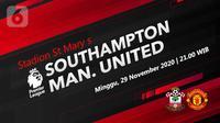 Southampton vs Manchester United (Liputan6.com/Abdillah)