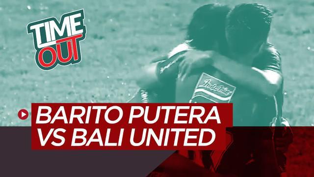 Berita video Time Out Shopee Liga 1 2020 kali ini membahas soal kemenangan Bali United atas Barito Putera 2-1 pada laga pekan kedua.