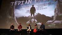 Konferensi Pers dan Premiere Web Series Tepian Kelana, Jumat (8/2).