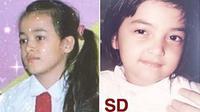 Beda Penampilan 7 Penyanyi Solo Cewek Saat SD, Dewi Perssik Bikin Pangling (sumber: Instagram.com/mawaries.tng dan Instagram.com/ashanty_ash)