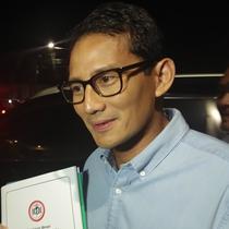 Bakal Cawapres Sandiaga Uno (Liputan6.com/ Ady Anugrahadi)