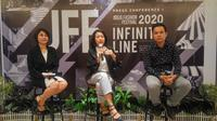 Jogja Fashion Festival 2020 mengalami transformasi untuk merangkul lebih banyak khayalak. (Liputan6.com/ Switzy Sabandar)