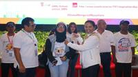 Menteri BUMN Rini Soemarno melepas 150 peserta program siswa mengenal nusaran (Foto:Dok Kementerian BUMN)