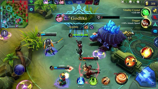 game android terpopuler mobile legends
