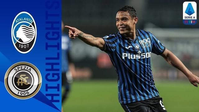 Berita video gol indah Luis Muriel dalam highlights laga kemenangan Atalanta atas Spezia 3-1 pada pekan ke-27 Liga Italia 2020/2021, Sabtu (13/3/2021) dinihari WIB.