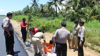 Tunawisma diduga meninggal kelaparan di Kebumen. (Foto: Liputan6.com/Polres Kebumen/Muhamad Ridlo)