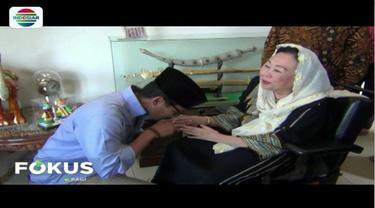 Datangi kediaman keluarga Gus Dur, Sandiaga Uno dapat wejangan dari Shinta Nuriyah.